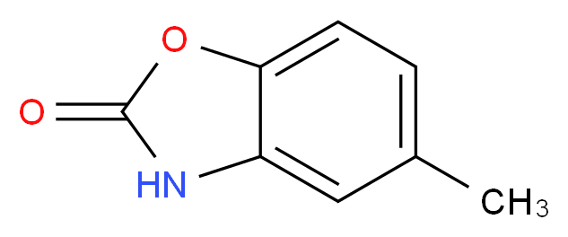 5-Methyl-1,3-benzoxazol-2(3H)-one_Molecular_structure_CAS_22876-15-9)