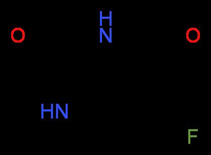 Fluorouracil_molecular_structure_cas_