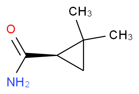 (R)-(-)-2,2-Dimethylcyclopropane-1-carboxamide_Molecular_structure_CAS_106462-18-4)
