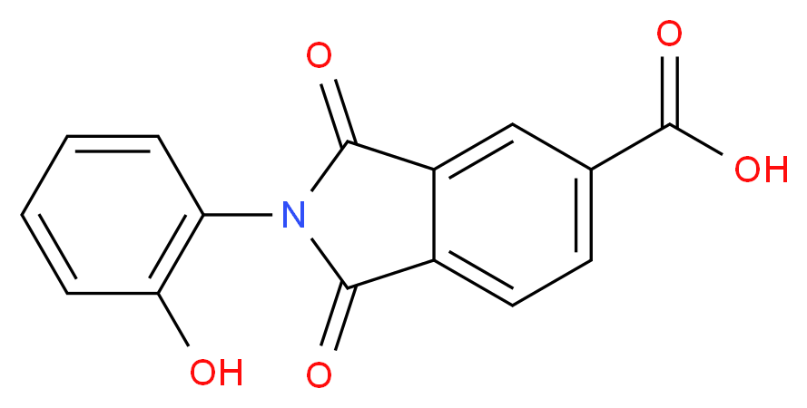 2-(2-Hydroxyphenyl)-1,3-dioxoisoindoline-5-carboxylic acid_Molecular_structure_CAS_312746-96-6)