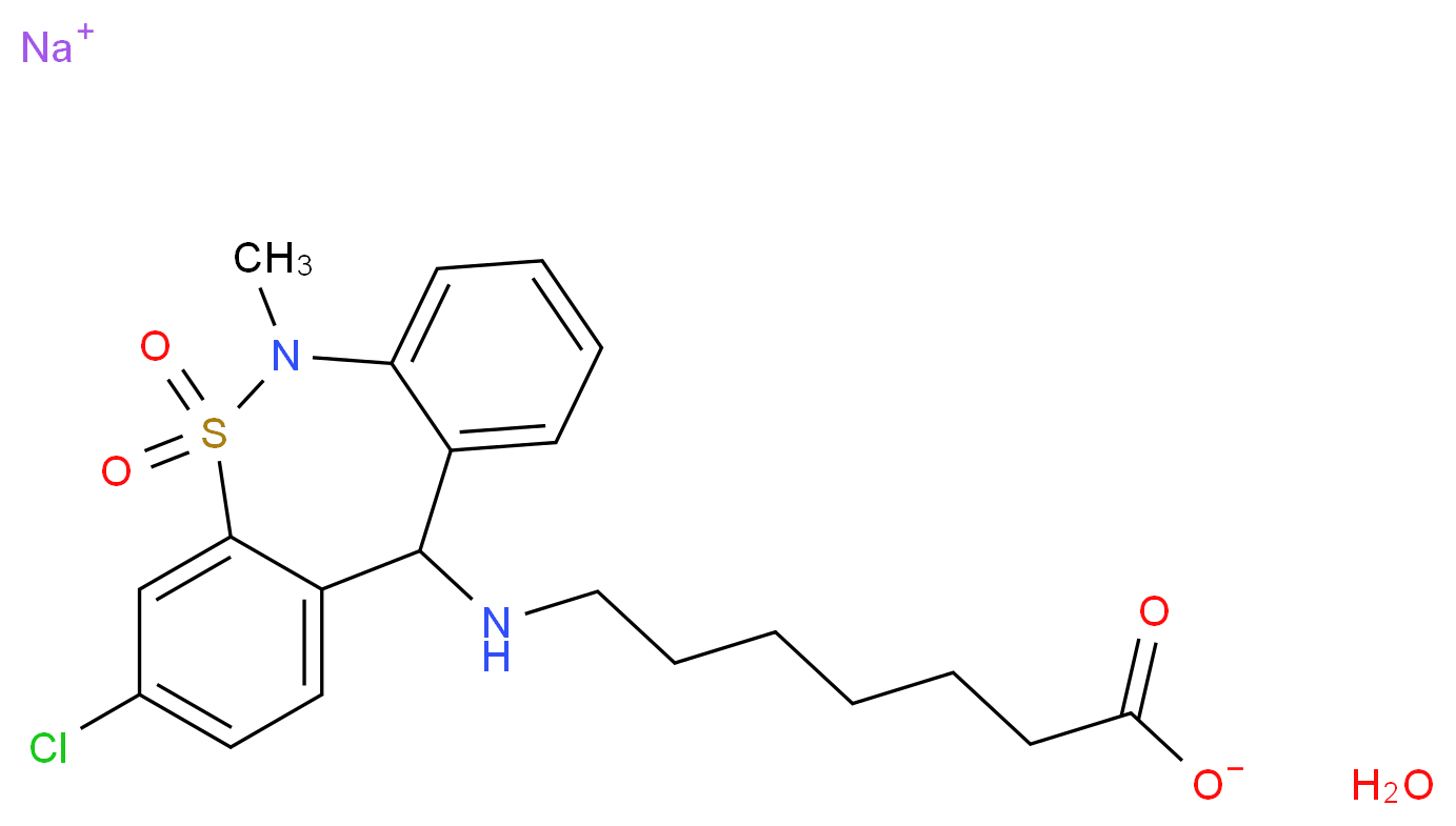 CAS_30123-17-2(anhydrous) molecular structure
