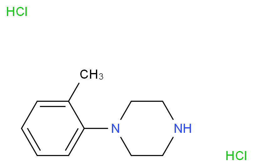1-(o-Tolyl)piperazine dihydrochloride_Molecular_structure_CAS_70849-60-4)