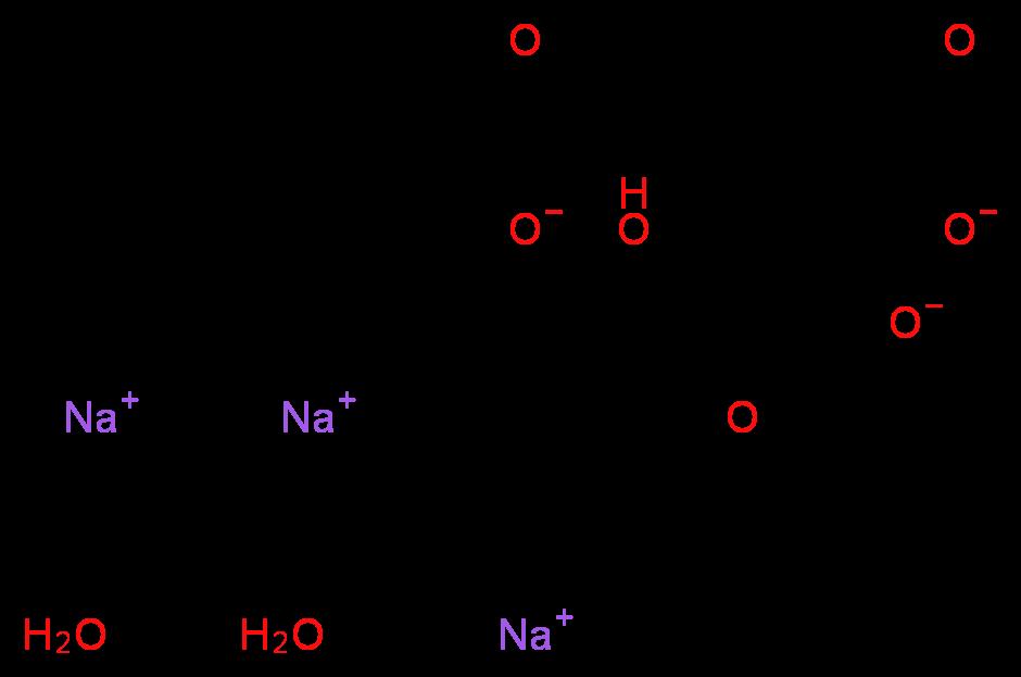 trisodium citrate msds