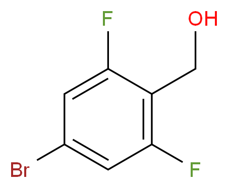 4-Bromo-2,6-difluorobenzyl alcohol_Molecular_structure_CAS_162744-59-4)