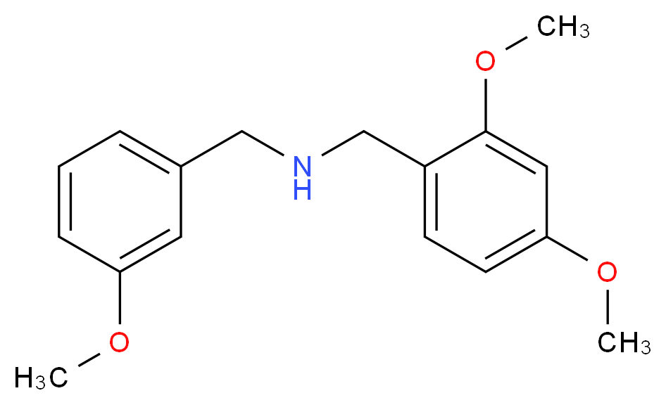 (2,4-dimethoxybenzyl)(3-methoxybenzyl)amine_Molecular_structure_CAS_355816-85-2)