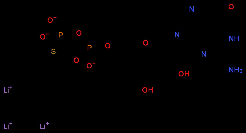 97952-36-8|Guanosine 5′-[β-thio]diphosphate trilithium ...