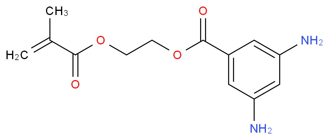 2-(Methacryloyloxy)ethyl 3,5-diaminobenzoate_Molecular_structure_CAS_76067-81-7)