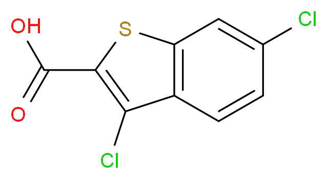 3,6-Dichloro-benzo[b]thiophene-2-carboxylic acid_Molecular_structure_CAS_34576-94-8)