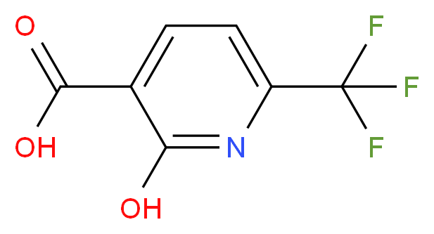 2-Hydroxy-6-(trifluoromethyl)nicotinic acid_Molecular_structure_CAS_191595-63-8)