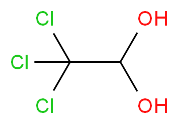 Chloral hydrate solution_Molecular_structure_CAS_302-17-0)