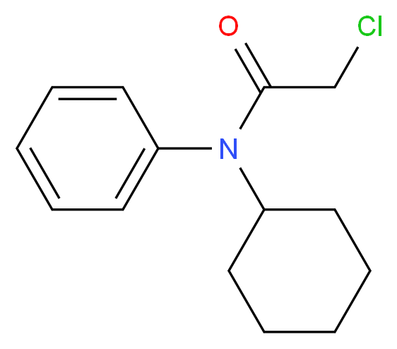 2-chloro-N-cyclohexyl-N-phenylacetamide_Molecular_structure_CAS_)