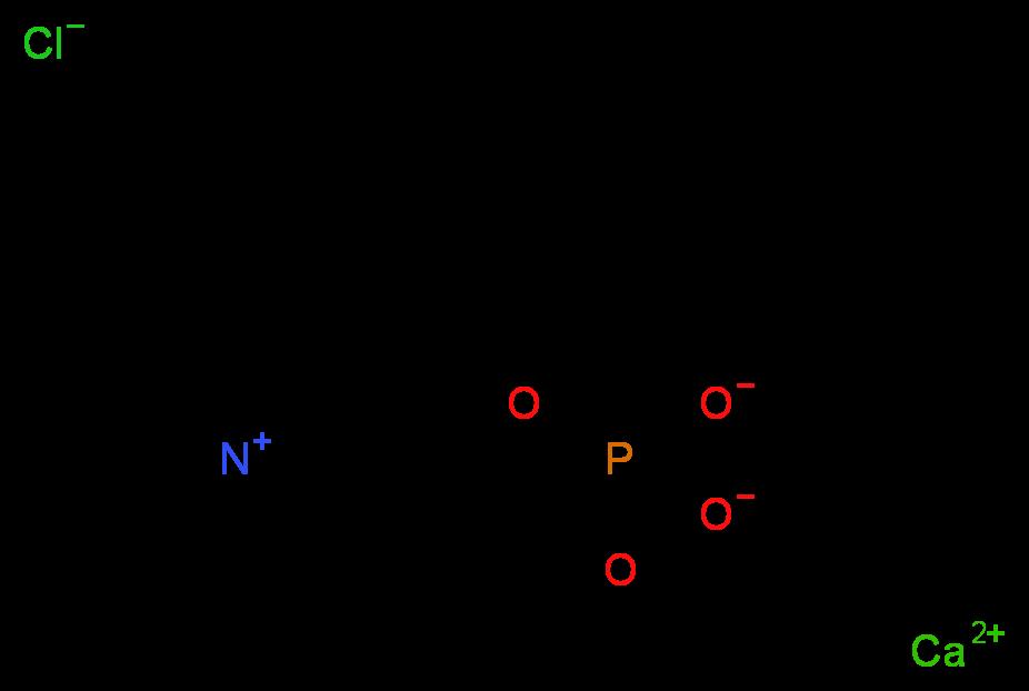 Calcium Chloride Molecular Structure 344299-43-0 molecular