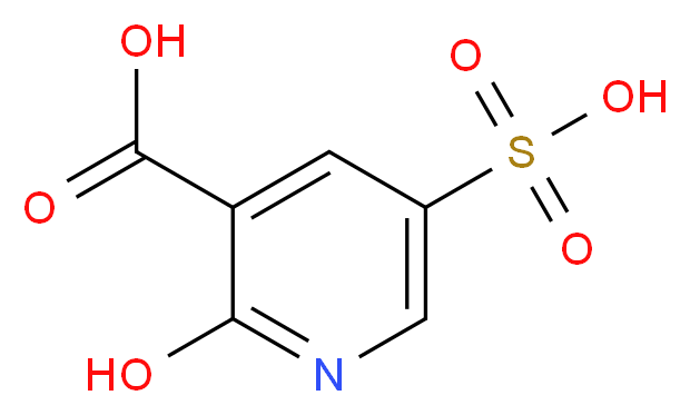 2-Hydroxy-5-sulfonicotinic acid_Molecular_structure_CAS_334708-05-3)
