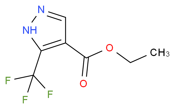 Ethyl 5-(trifluoromethyl)-1H-pyrazole-4-carboxylate_Molecular_structure_CAS_155377-19-8)