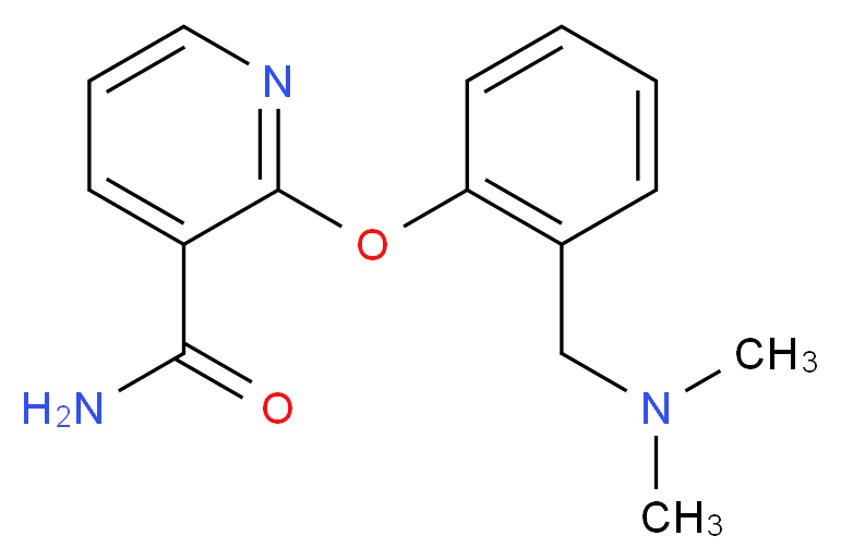 2-{2-[(dimethylamino)methyl]phenoxy}nicotinamide_Molecular_structure_CAS_)