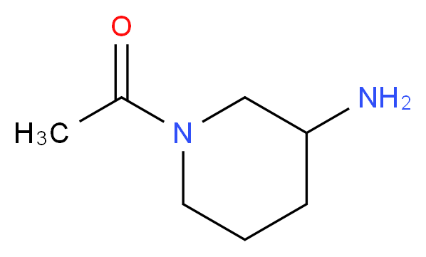 1-acetyl-3-piperidinamine_Molecular_structure_CAS_1018680-22-2)