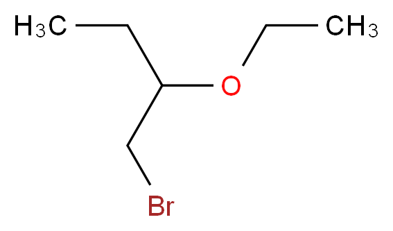 1-bromo-2-ethoxybutane|1-(Bromomethyl)propyl ethyl ether