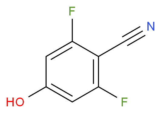 2,6-Difluoro-4-hydroxybenzonitrile_Molecular_structure_CAS_123843-57-2)