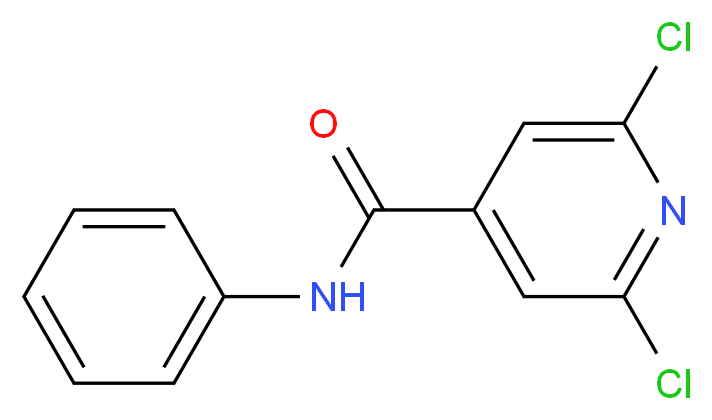 N4-Phenyl-2,6-dichloroisonicotinamide_Molecular_structure_CAS_)