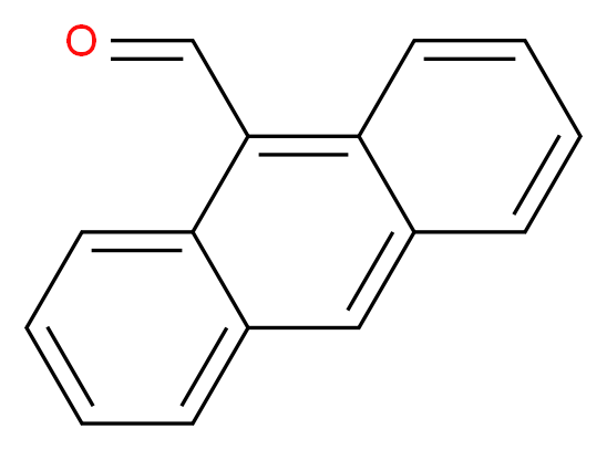 9 Anthraldehyde Molecular Structure CAS 642 31