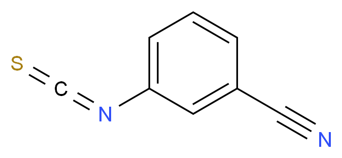 3-Cyanophenyl isothiocyanate_Molecular_structure_CAS_3125-78-8)