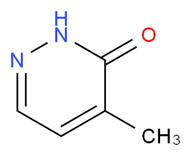 4-Methyl-2H-pyridazin-3-one_Molecular_structure_CAS_33471-40-8)