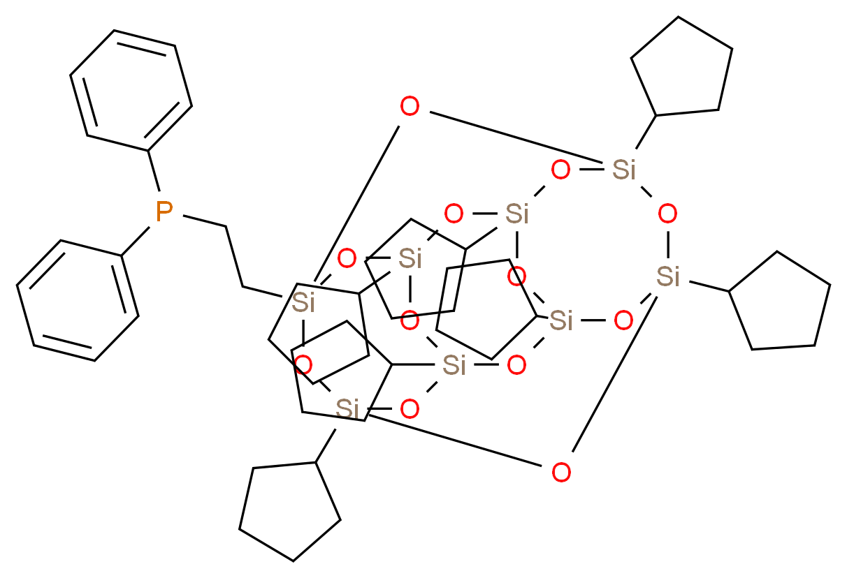 PSS-2-(Diphenylphosphino)ethyl-heptacyclopentyl substituted_Molecular_structure_CAS_193404-80-7)