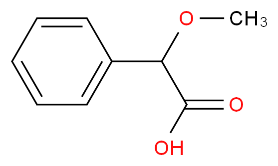 Methoxy(phenyl)acetic acid_Molecular_structure_CAS_7021-09-2)