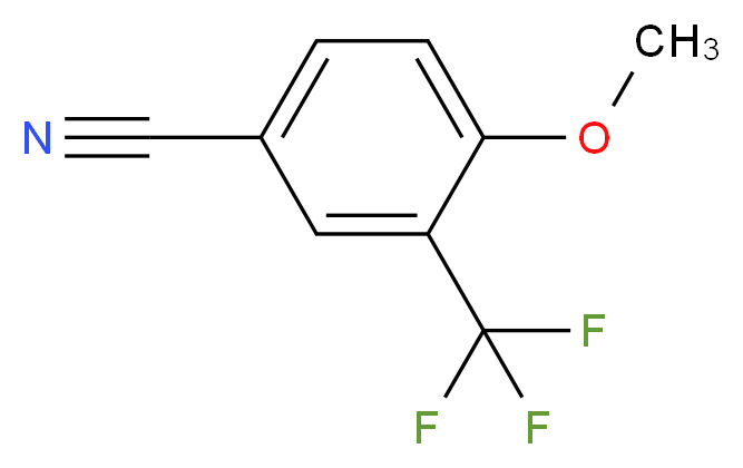4-Methoxy-3-(trifluoromethyl)benzonitrile_Molecular_structure_CAS_261951-87-5)